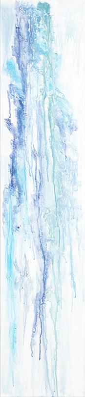 """Calming Blue"" 20x48"