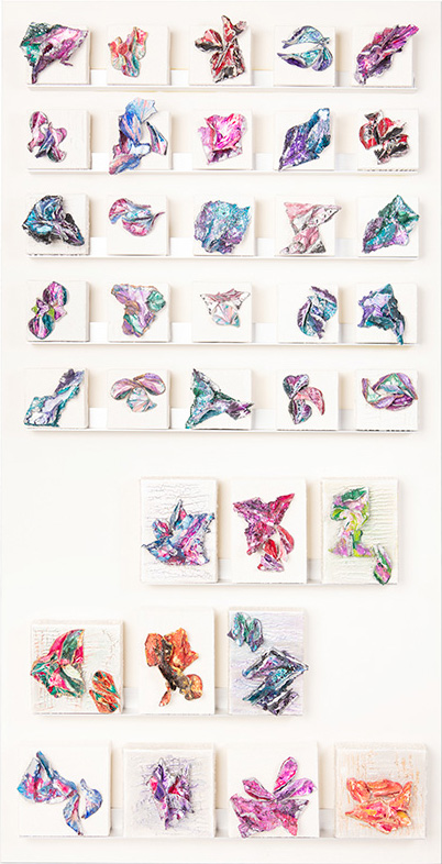 """Life Unfolding"" - Multiple individual mini canvases - 4x4 - 5x7 - 6x6 sold individually"